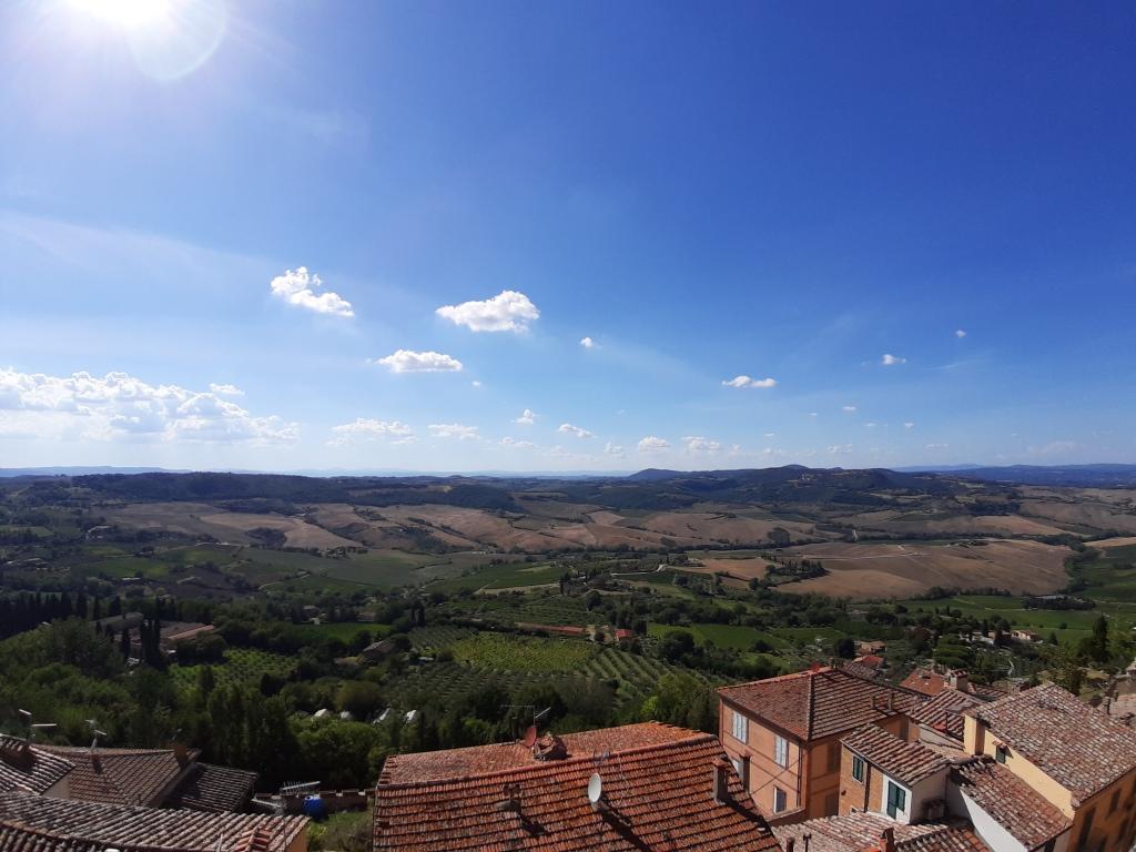 Vista mozzafiato da Montepulciano