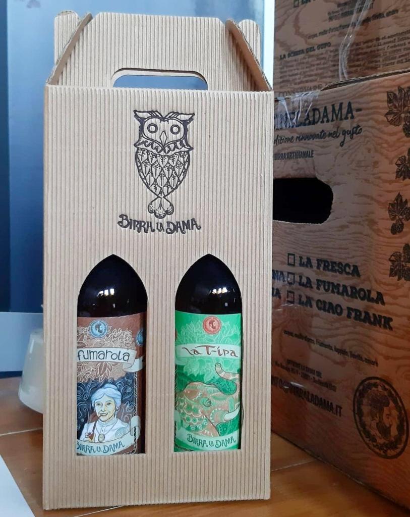 Birra La Dama, La Fumarola e la Tipa